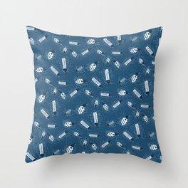 Lights Pattern Throw Pillow