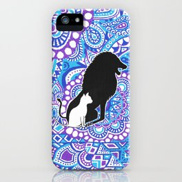 The lion's strength ! iPhone Case