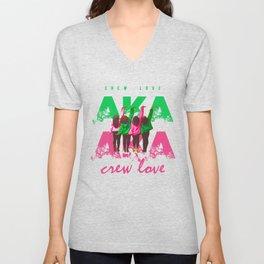 AKA Crew Love Unisex V-Neck