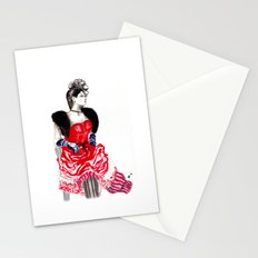 Can Can Dancer Stationery Cards