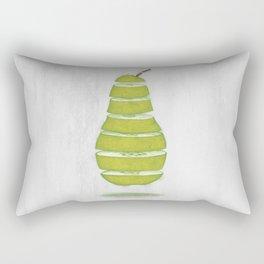 A Pear Apart Rectangular Pillow