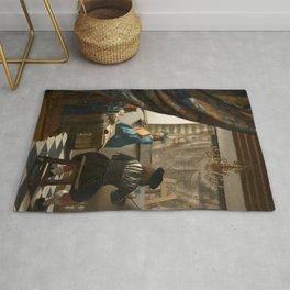 Johannes Vermeer - The Art of Painting Rug