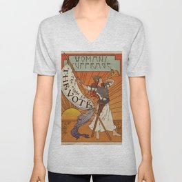 Women's Suffrage - The Right To The Vote Unisex V-Neck