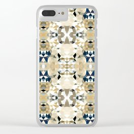 Neutral Tribal Clear iPhone Case