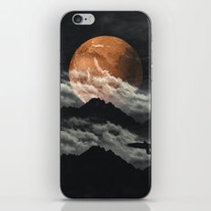 Spaces III - Mars above mountains iPhone & iPod Skin