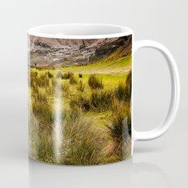 Valley Sunset Snowdonia Coffee Mug