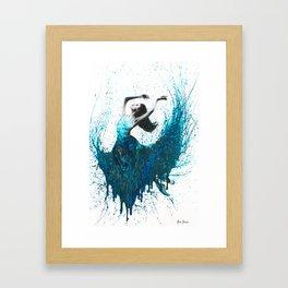 Ocean Gem Dance Framed Art Print