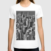 chicago T-shirts featuring Chicago by Claude Gariepy