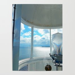 Souris Lighthouse View from the Top Poster