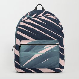 Palm Leaf Blush Vibes #1 #tropical #decor #art #society6 Backpack