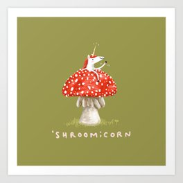 Shroomicorn Art Print