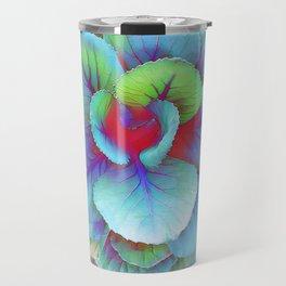 Flowering Kale Travel Mug