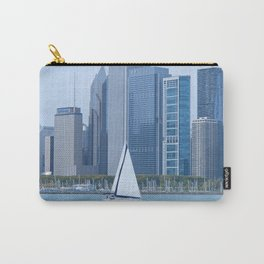 Sailing Past Chicago Carry-All Pouch