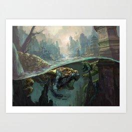 Vanishing Species Art Print