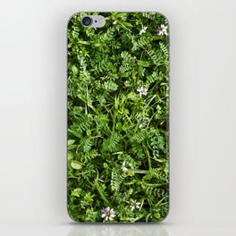 Ground Growing Green iPhone Skin