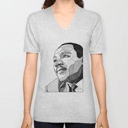 Dr. King Unisex V-Neck