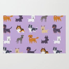 SCOTTISH DOGS Rug