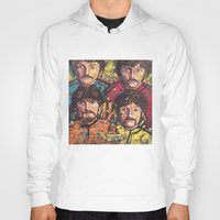 yellow submarine Hoodies featuring Yellow Submarine by somanypossibilities