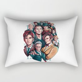 The Doctor Rectangular Pillow
