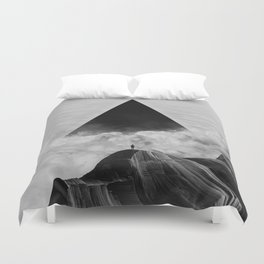 We never had it anyway Duvet Cover