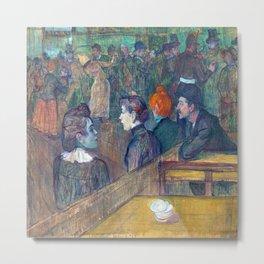 Henri de Toulouse Lautrec Moulin de la Galette Metal Print