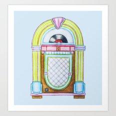 Jukebox Art Print