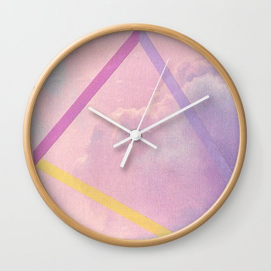 What Do You See III Wall Clock