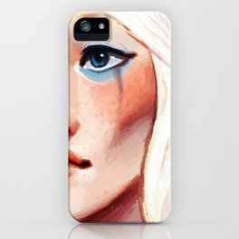 To Blush and to Bleed iPhone Case