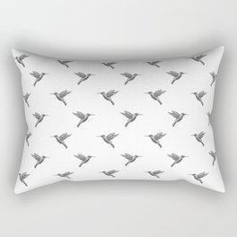Pajaritos (Black and White) Rectangular Pillow