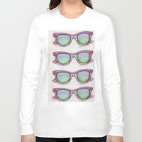 sunglasses Long Sleeve T-shirts featuring Sunglasses. by Alexis Pilato
