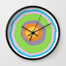 Minimalist Irregular Circles Wall Clock