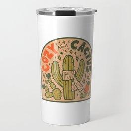 Cozy as a Cactus Travel Mug