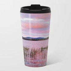 Sunset over Raquette Lake Metal Travel Mug