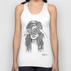 Beauty is within the eye of the beholder - By Ashley Rose Standish Unisex Tank Top