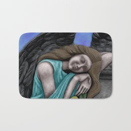 Sleeping Angel Bath Mat