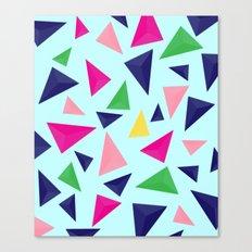 Colorful geometric pattern VIV Canvas Print