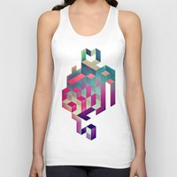 spires Tank Tops featuring isyhyrtt dyymyndd spyyre by Spires