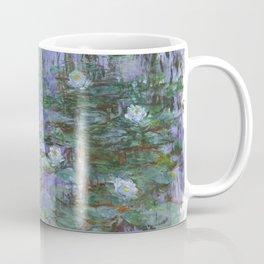 Blue Water Lilies by Claude Monet, 1916 Coffee Mug