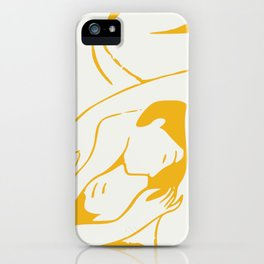 Behave iPhone Case