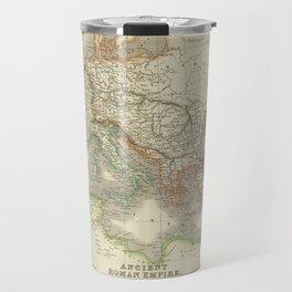Vintage Map of The Roman Empire (1844) Travel Mug