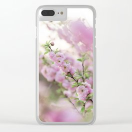 Spring in Pink #2 Clear iPhone Case