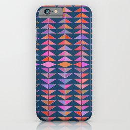 Colorful Triangles iPhone Case