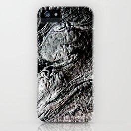 Black Lava iPhone Case