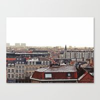 brussels Canvas Prints featuring Brussels by Anastasiia Prysiazhniuk