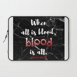 ALL IS BLOOD | NEVERNIGHT Laptop Sleeve