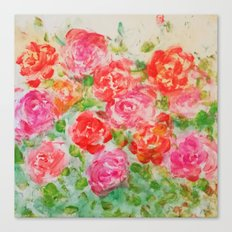Forever Roses Canvas Print