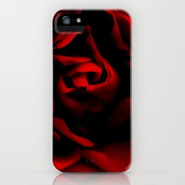 Passionate rose iPhone Case