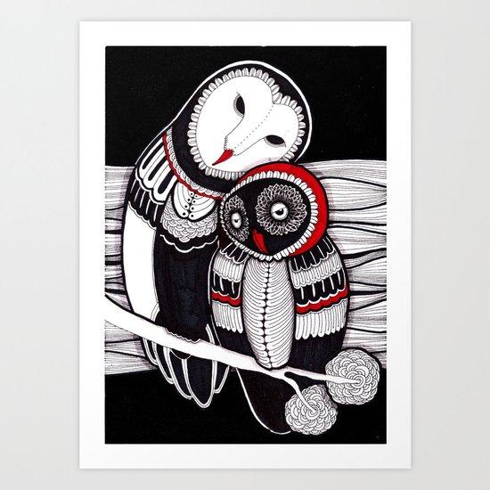owLove Art Print