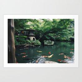 Happoen Garden Art Print