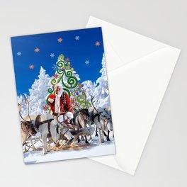 Santa Kringle Claus Stationery Cards